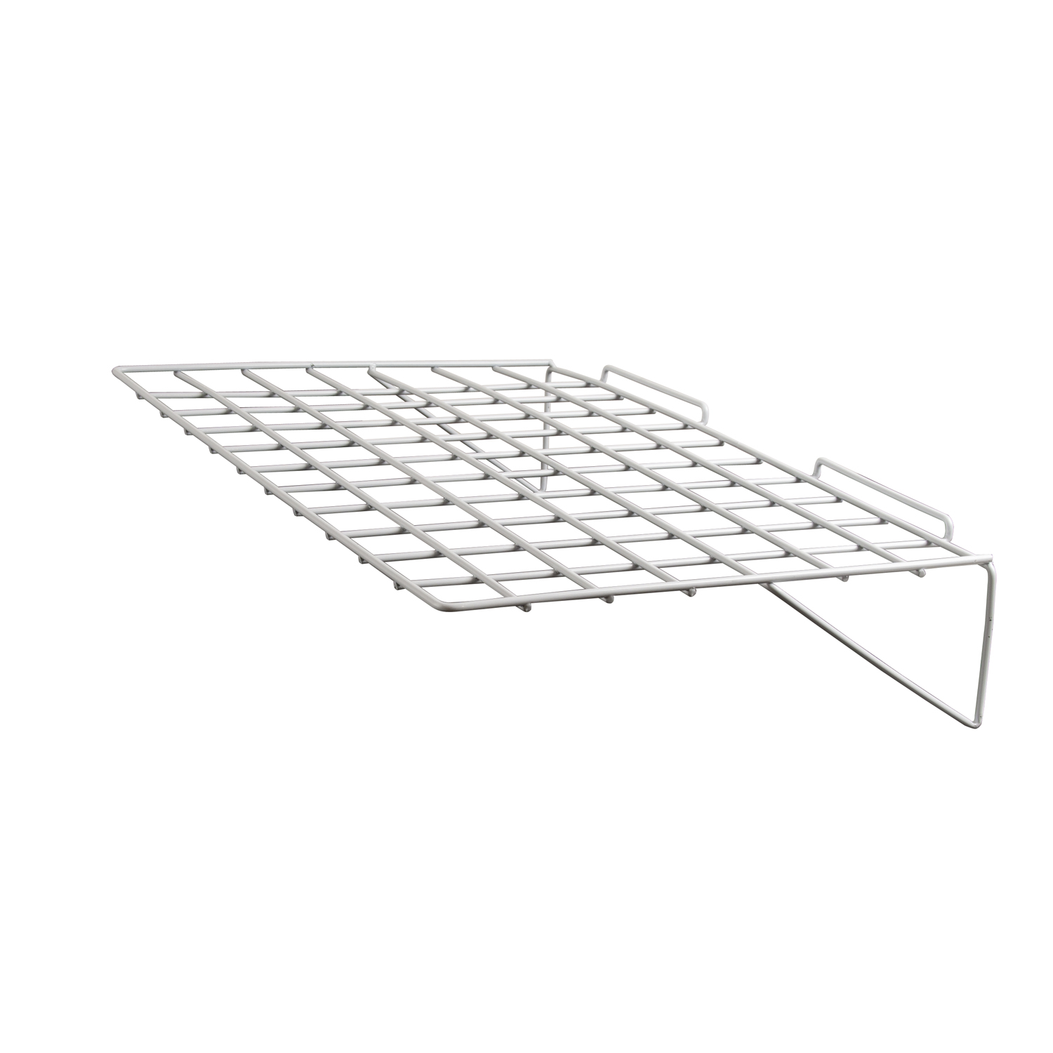Econoco Video Shelf For Slatwall Pack Of 6 Slatwall Shelves