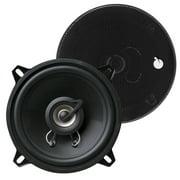 Planet Audio TRQ522 Max 225 watt Torque Series 2-Way Speakers, Black - 5.25 in.