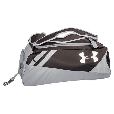 new product b2537 82418 Under Armour UASB-CONMID Black Converge Player Mid Duffle   Backpack Bat  Pack - Walmart.com