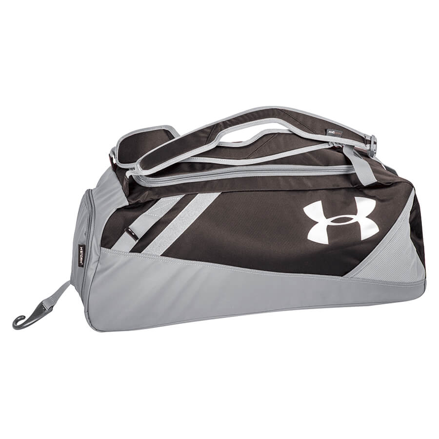 Under Armour UASB-CONMID Black Converge Player Mid Duffle / Backpack Bat Pack