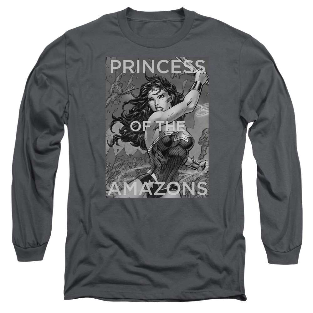 Jla Princess Of The Amazons Mens Long Sleeve Shirt