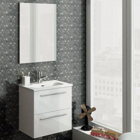 Varick Gallery Kegler 20 Single Bathroom Vanity With Mirror