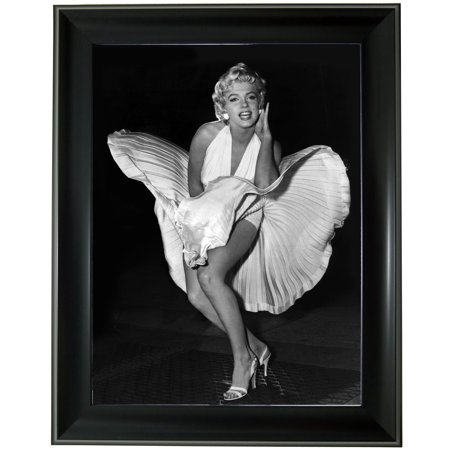 3d Steel Wall Art - Marylyn Monroe 3D Lenticular Picture Frame Wall Art