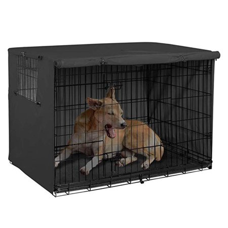 NK Dog Crate Cover Durable Polyester Pet Kennel Cover Universal Fit for Wire Dog -