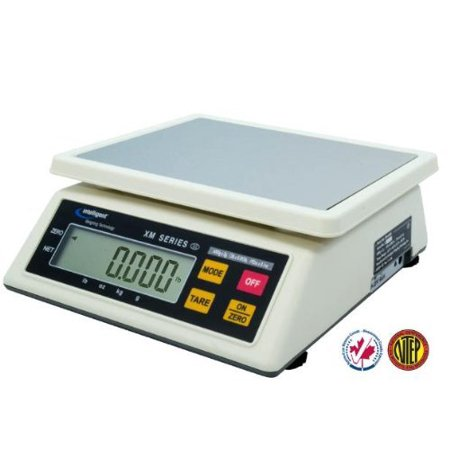 Intell_Lab XM_6000 Portable Portion Control Scale 6000g X 2g _ 12 lb X 0.005 lb,NTEP, Legal For Trade, by Intelligent