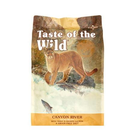 Taste of the Wild Grain-Free Canyon River Feline Cat Food, 14 (Taste Of The Wild Dry Cat Food Reviews)