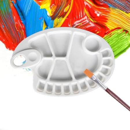 18-Well Profesional Artist Paint Palette Tray Paint - The Painted Palette