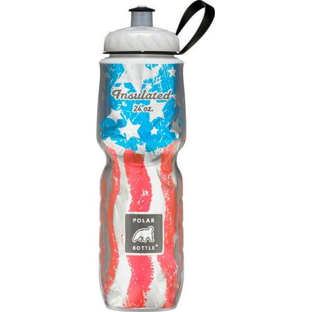 Polar Insulated Water Bottle: 24oz, Star Spangled