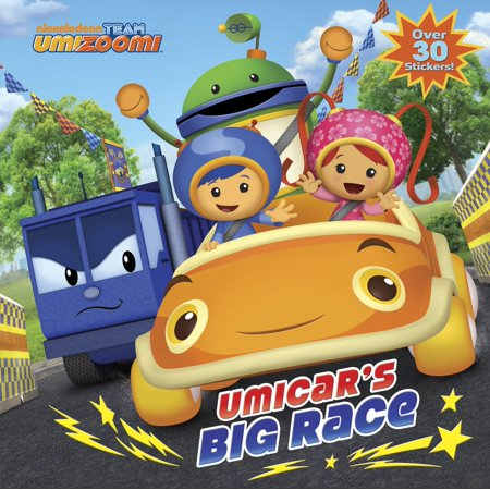 UmiCar's Big Race (Team Umizoomi) (Team Umizoomi Party Supplies)