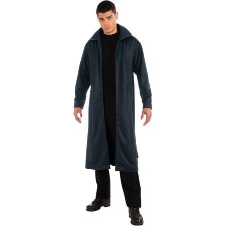 Adult Mens John Harrison Khan Star Trek Navy Trench Coat Costume