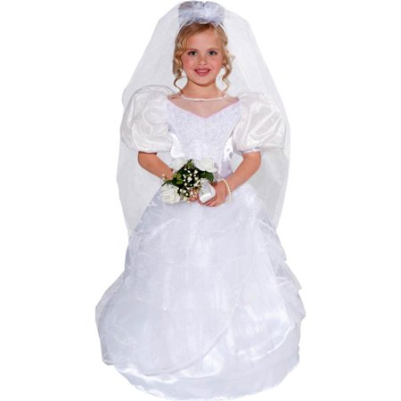 Wedding Bride Kids Costume for $<!---->