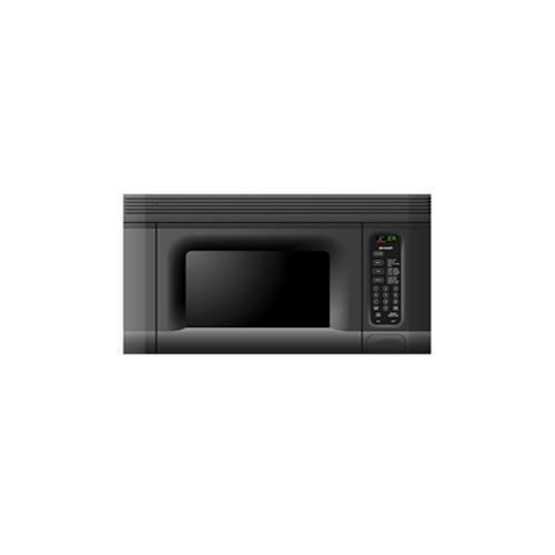 sharp over the range microwave black sharp r1405