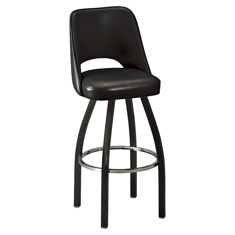 Regal 30 Inch Fillmore Bucket Seat Swivel Bar Stool Walmartcom