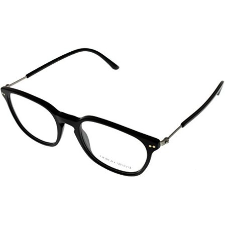 Giorgio Armani Frames of Life Prescription Eyewear Frames Unisex Black AR7086 5042 Size: Lens/ Bridge/ Temple: (Giorgio Armani Frames Of Life Glasses)