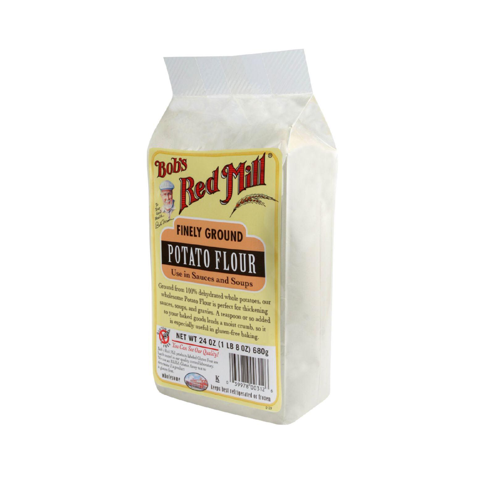 Bob's Red Mill Potato Flour - 24 oz - Case of 4