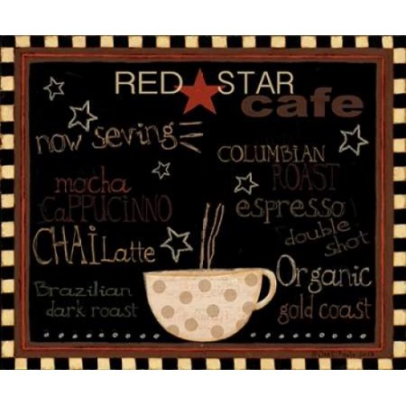 Red Star Cafe Poster Print by Dan DiPaolo](Dan Dipaolo Halloween)