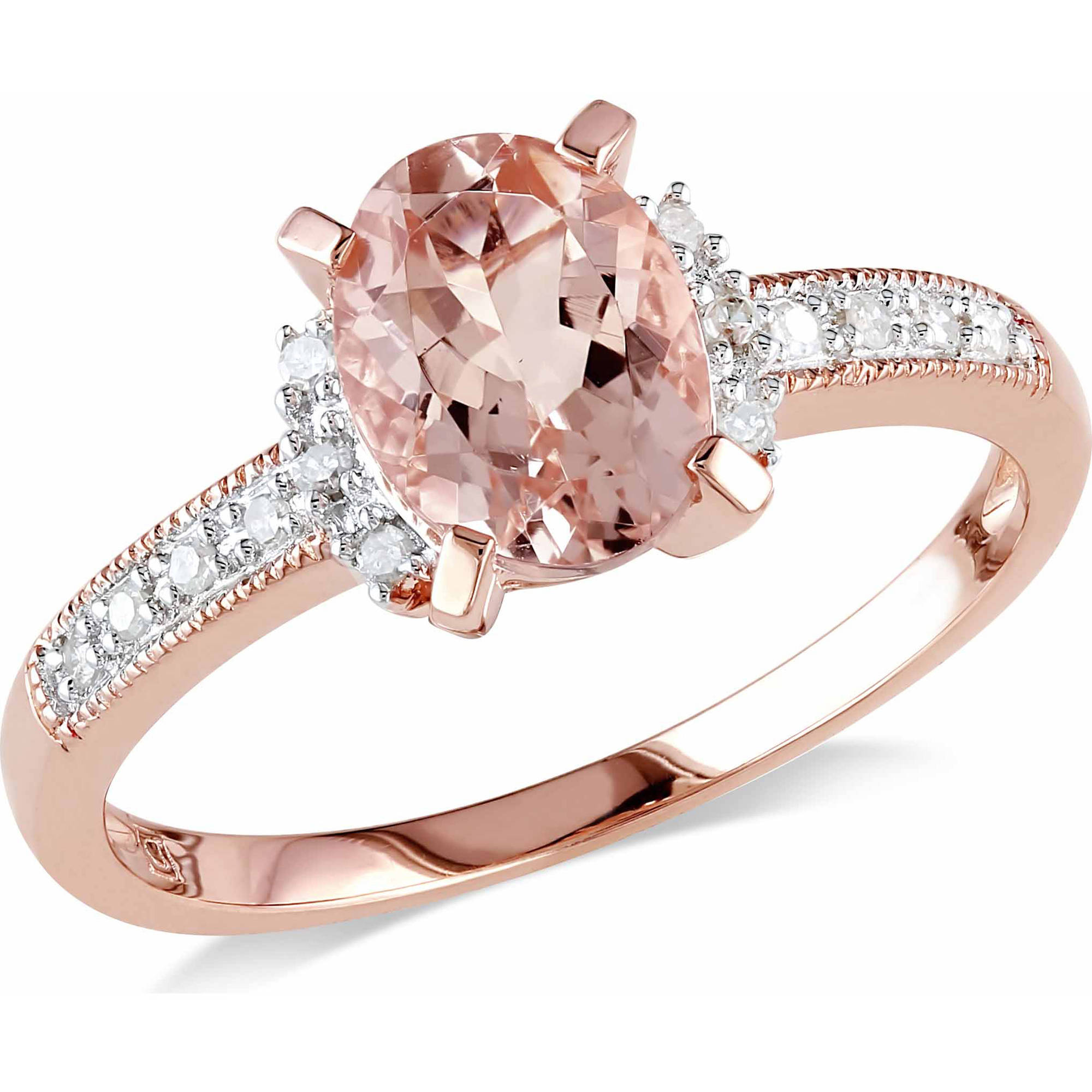 ring wedding morganite diamond moss levian jewellers gold product rose rings ben levianr