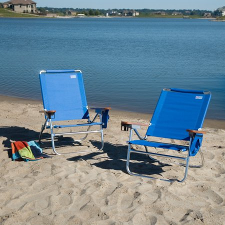 Rio Blue Beach Chair Set Of 2