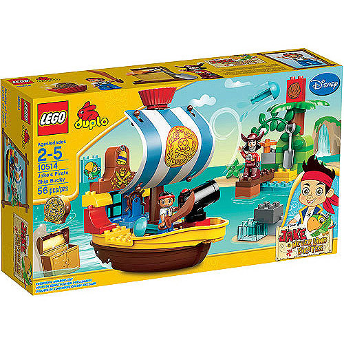 LEGO DUPLO Jake's Pirate Ship Bucky Play Set