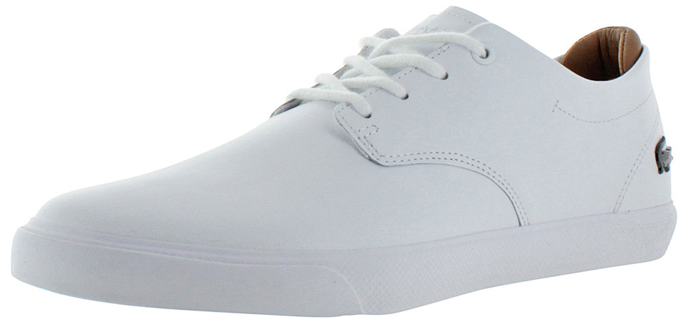 6172a8b08 Lacoste - Lacoste Espere Men s Leather Fashion Sneakers Shoes - Walmart.com