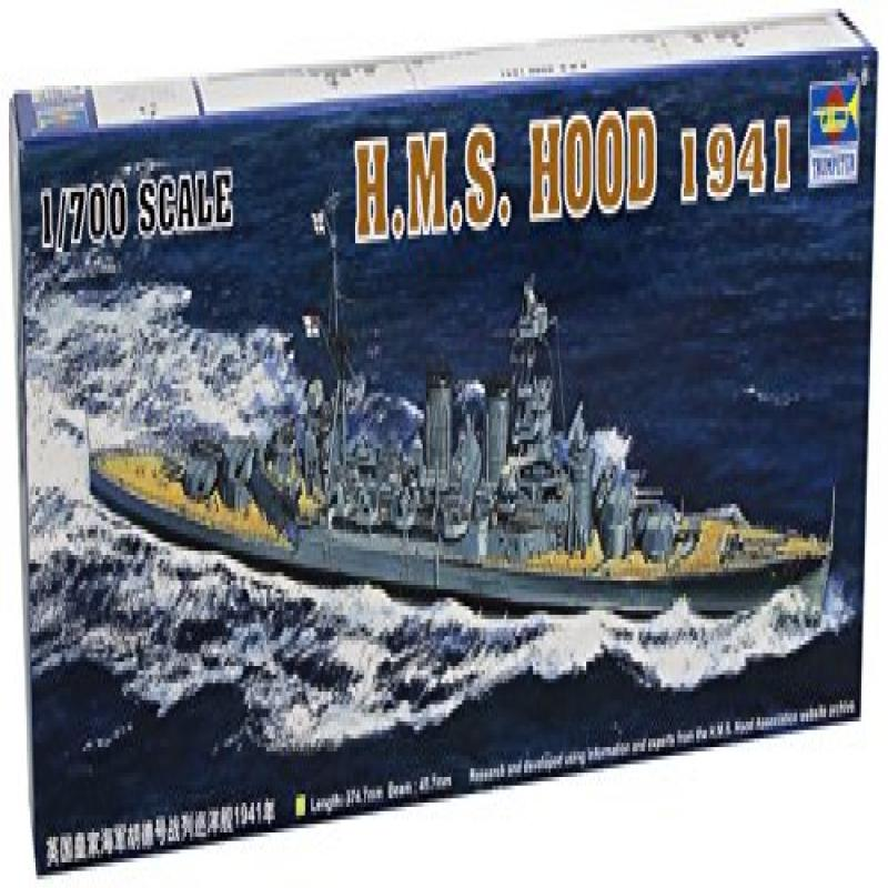 Trumpeter 1/700 HMS Hood British Battleship 1941 Model Kit