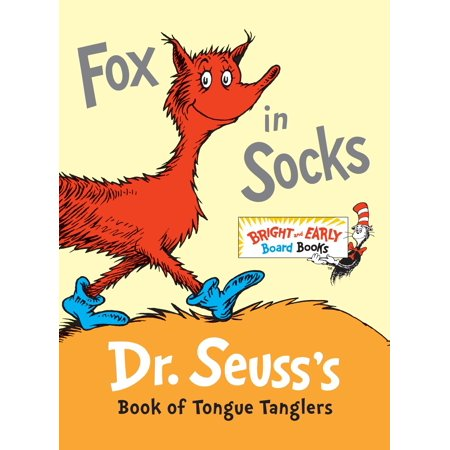Fox in Socks Dr Seusss Book of Tongue Ta (Board Book) (Dr Seuss Book Covers)