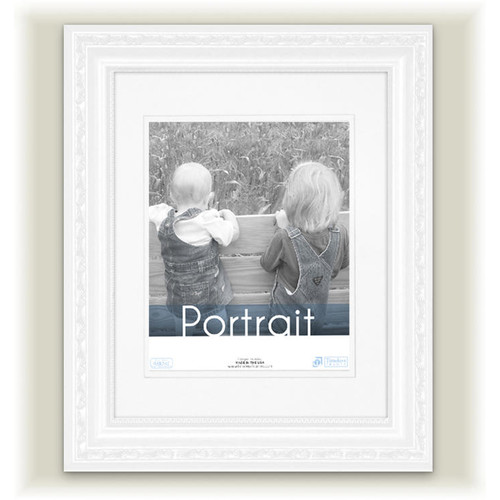 Loma Matted Picture Frame, White, 16 x 20