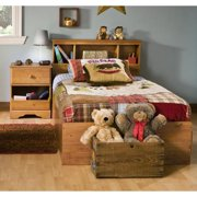 kids twin bedroom sets. Kids Twin Wood Captain s Bed 3 Piece Bedroom Set in Country Pine  Sets Walmart com