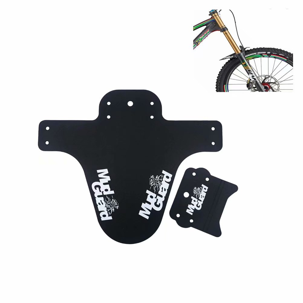 Mountain Bike Colorful Fender Road Bike Fixed Gear Bicycle Water Fender Black
