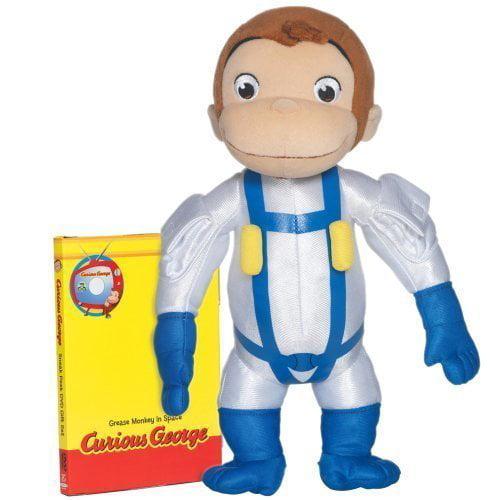 Curious George Space Monkey Huggable Plush