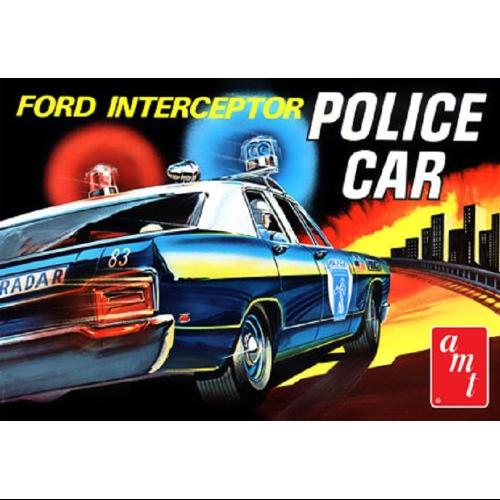 1/25 '70 Ford Galaxie Police Interceptor Multi-Colored