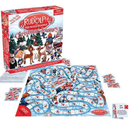 Embellishments Reindeer Games - Rudolph the Red-Nosed Reindeer's Christmas Journey Family Fun Board Game