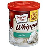 Duncan Hines Whipped Frosting Vanilla Gluten Free 14 Oz. Pack Of