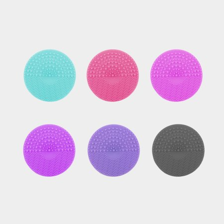 Silicone Makeup Brush Cleaning Mat Makeup Brush Cleaner Pad Cosmetic Brush Cleaning Scrubber Washing Tool - image 9 of 9