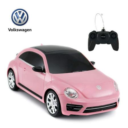 Futaba Rc Model (Radio Remote Control 1/24 Scale Volkswagen Beetle Licensed RC Model Car (Pink))