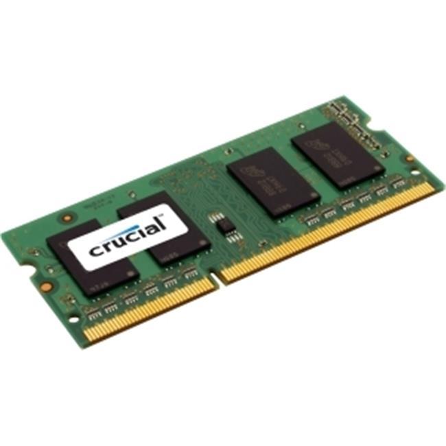 Crucial-Spectek CT51264BF160BJ 4GB DDR3 SDRAM Memory Module - 4 GB - DDR3 SDRAM - 1600 MHz DDR3-1600-PC3-12800 - 204-pin SoDIMM