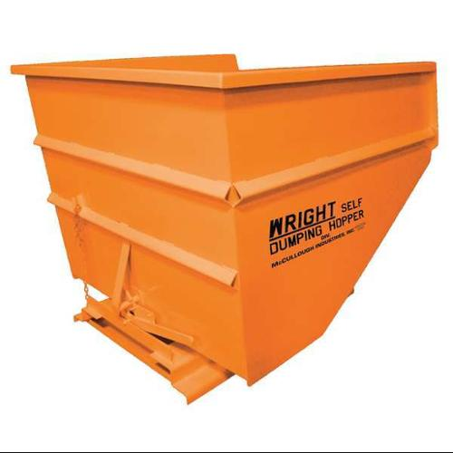 Self Dumping Hopper,5000 lb.,Orange G0453455