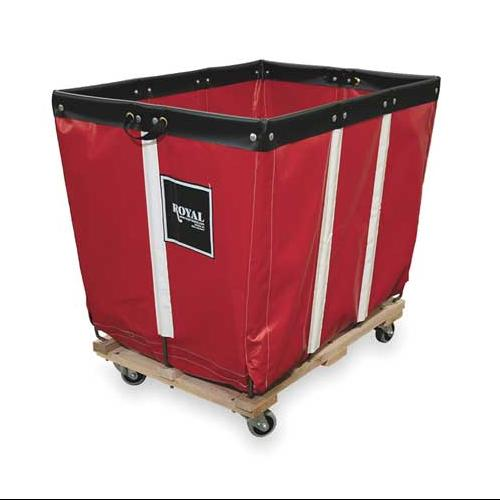 ROYAL G10-RRW-PMA-3UNN Basket Truck, 10 Bu. Cap., Red, 36 In. L