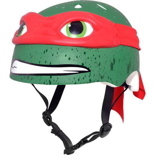 C - Preme Nickelodeon Teenage Mutant Ninja Turtles Raphael Bike Helmet, Child