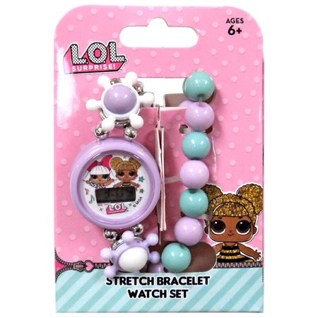 LOL Surprise Stretch Bracelet & Watch Set