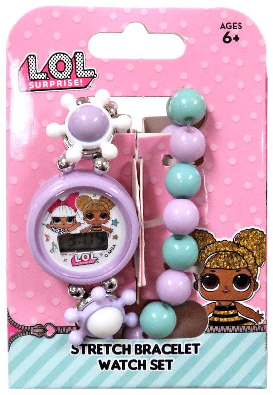 LOL Surprise Stretch Bracelet & Watch Set