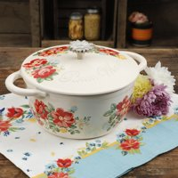 Deals on The Pioneer Woman Floral 3-Quart Enameled Cast Iron Casserole