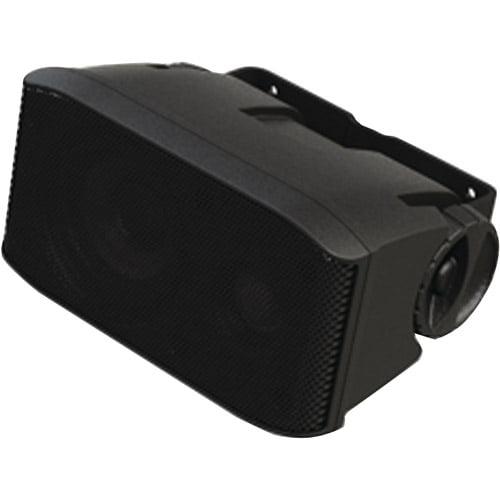 "Fusion Marine 2-Way Cabin/Salon 3"" Cube Speakers, Black"