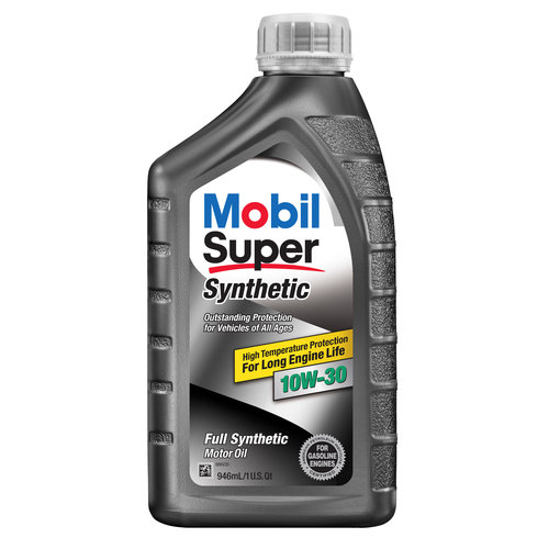 Mobil Super Synthetic 10W-30 Engine Oil