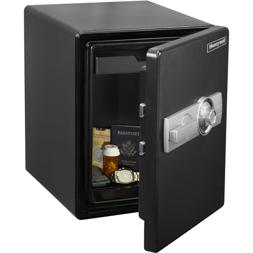 Honeywell .6 cu ft Water Resistant Steel Fire and Security Safe, 2201