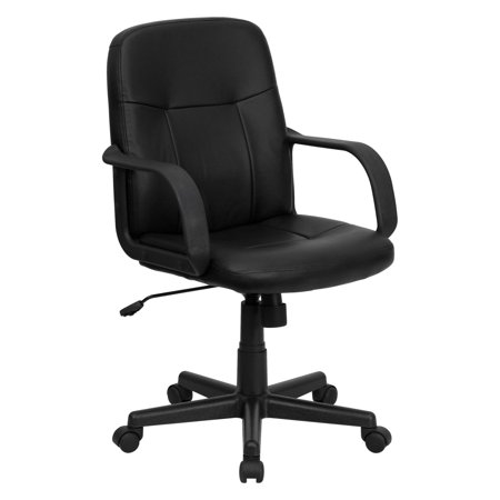 Flash Furniture Executive Office Chair - Black Glove Vinyl