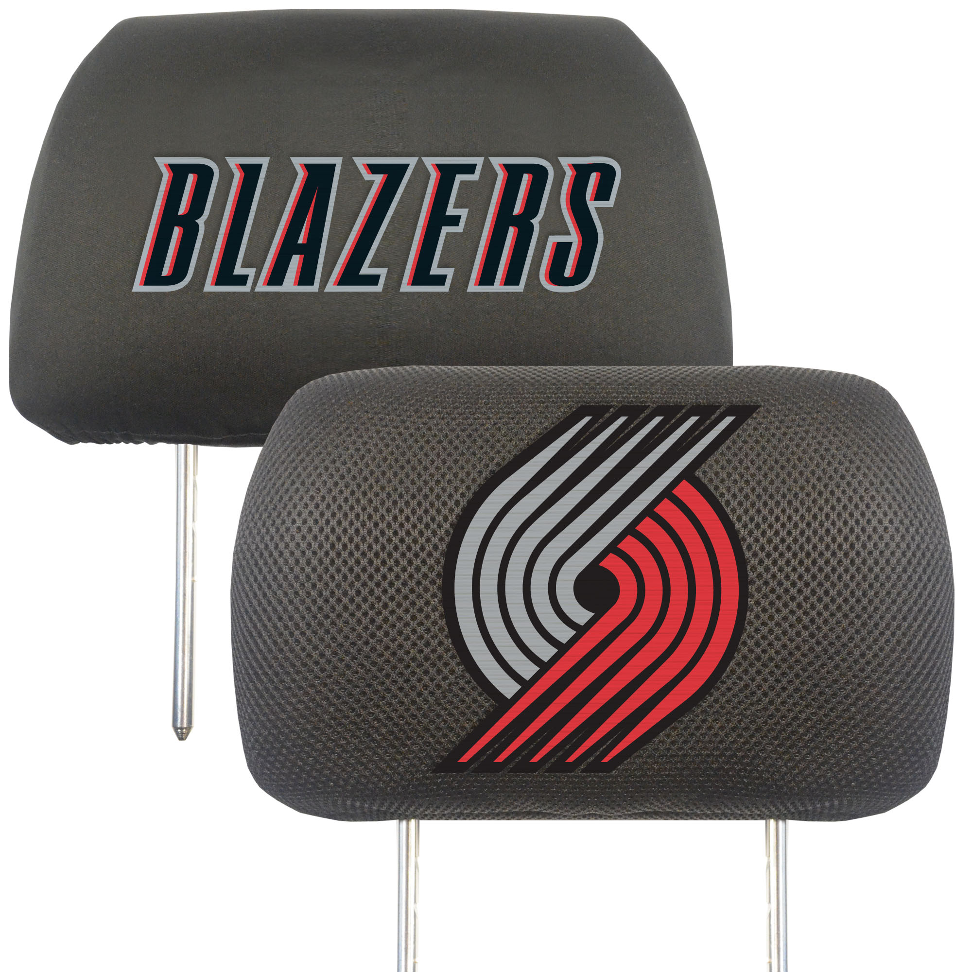 NBA Portland Trail Blazers Head Rest Cover Automotive Accessory