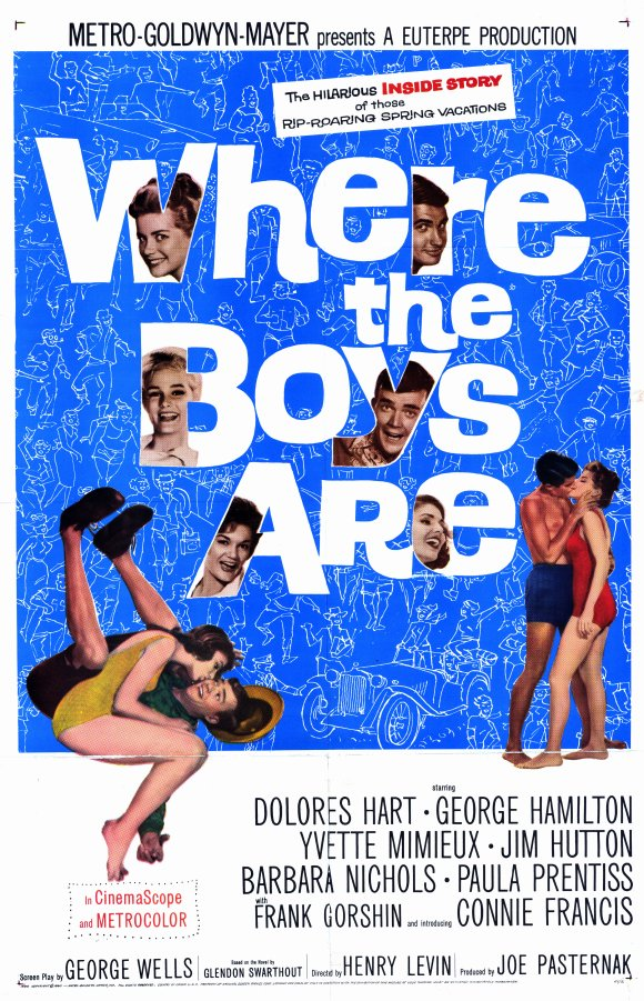 Where the Boys Are (1961) 11x17 Movie Poster by Pop Culture Graphics