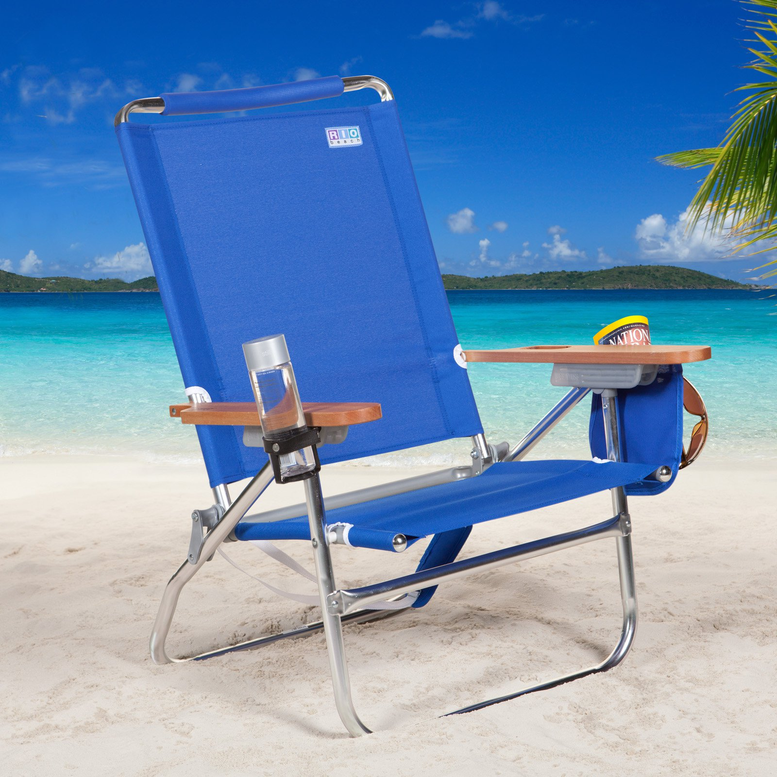 Merveilleux Rio SC680C Blue Beach Bum Beach Chair