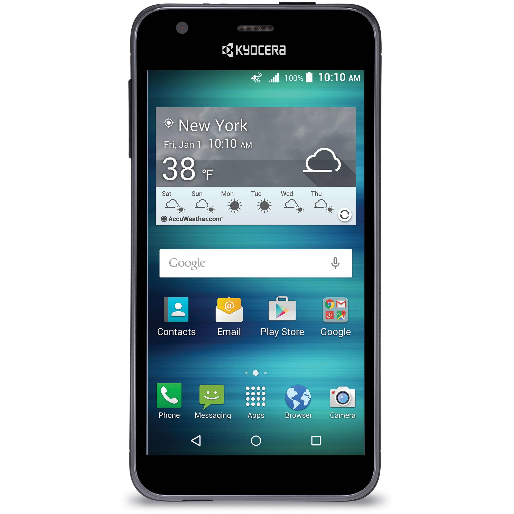 AT&T Kyocera Hydro Air Prepaid Smartphone